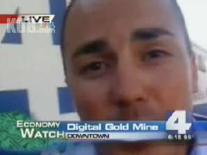 Picture 10 TV Reporter uses iPhone and Qik to report live