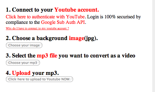 Picture 36 How to Upload an MP3 to YouTube