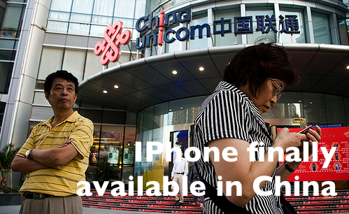 iPhone finally available in China