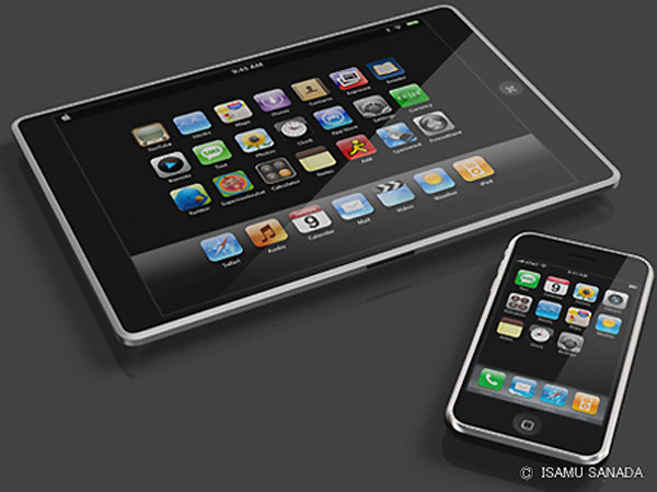 apple table ipad itablet macbook touch9 Apple iTablet concepts that are guaranteed to make you drool.