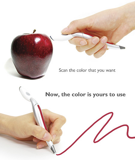 colorpickerpen The future of coloring in is here. Introducing the color picker pen.