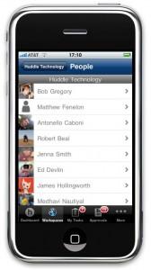 Huddle iPhone
