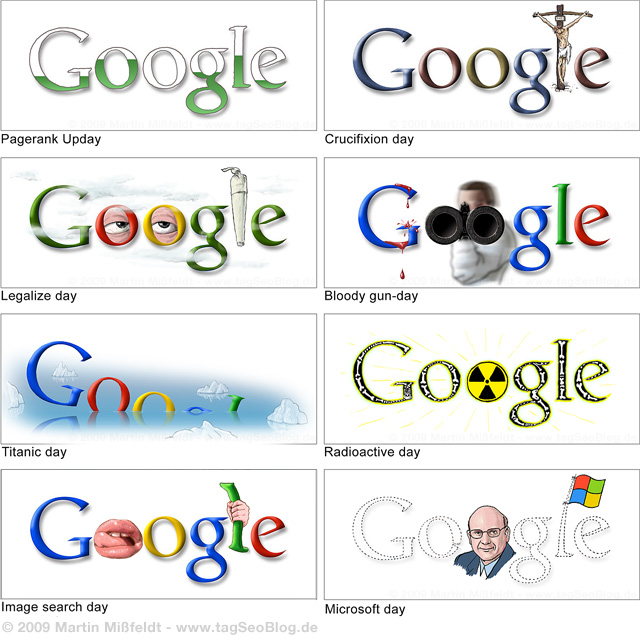 never shown google doodle inofficial 11 You wont EVER see these Doodles on Google.