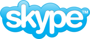 skype logo online 300x132 eBay set to sell Skype   Announcement expected today
