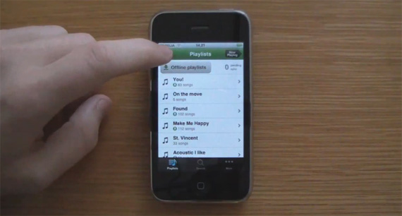 spotify iphone Spotify iPhone App: First Impressions