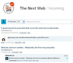 The Next Web Incoming 1254384831297 300x259 Digg + FriendFeed = Twingly Channels: Try it now (Invites)