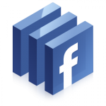 facebook logo 300x300 150x150 Confirmed: Facebook design refreshment in the works [Screenshots] (updated)
