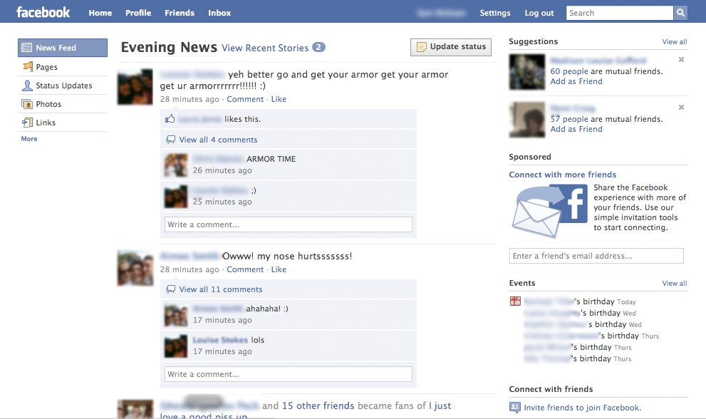 top news5 Confirmed: Facebook design refreshment in the works [Screenshots] (updated)