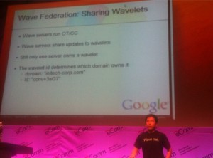 wang 300x222 Google Wave to be opened for federation today! Yes, for you to host.