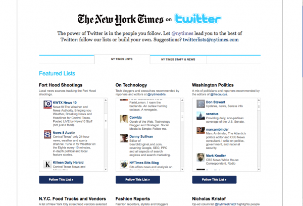Picture 2 600x408 The NY Times Devotes An Entire Section of Its Site to Twitter Lists