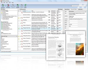 Mendeley Desktop App