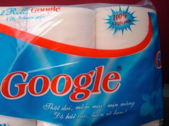 New Google product: 100% Virgin pulp