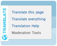 Translate Menu