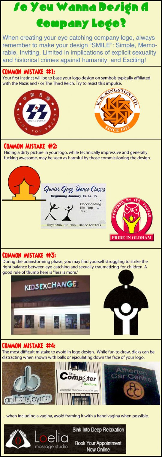 Brilliant logo mistakes, and how to avoid them