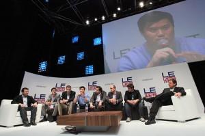Le Web panel discussion (photo credit: Robert Scoble)