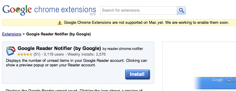 How to get Chrome extensions working on a Mac