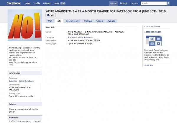 Picture 371 600x416 133,000 Member Facebook Group is One Big Scam