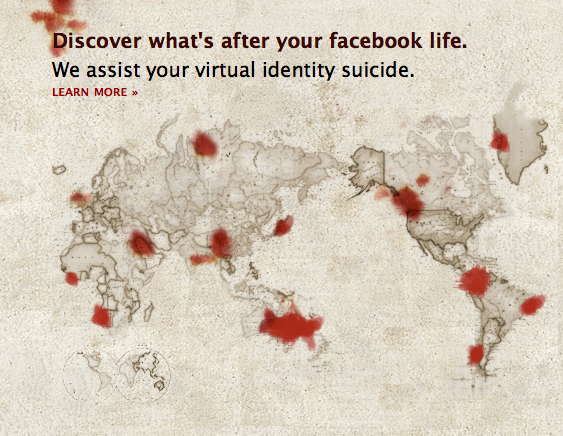 Commit Facebook Suicide