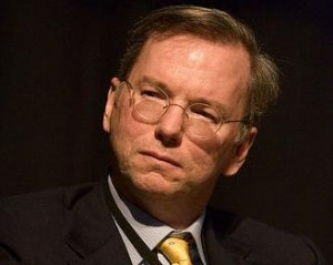 eric schmidt by haynes 300x239 What scares Google? Missing the next big thing