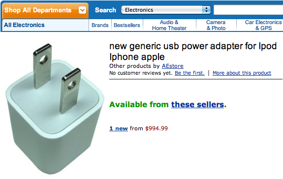 expensive power adapter