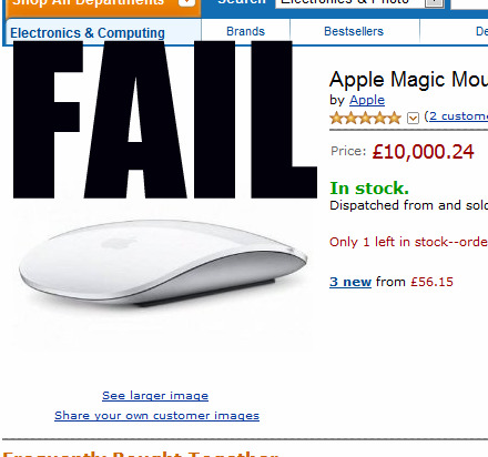 This Mouse Is Too Expensive