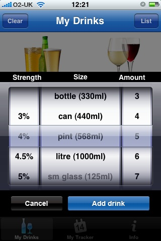 nhs3 NHS release iPhone app to track alcohol intake...will it make a difference though?