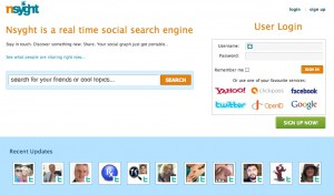 nsyght 300x176 Nsyght   New Funding Invigorates Social Search Engine