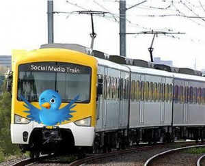 social media train1 300x243 Social Media Train Steams Ahead