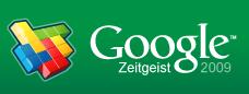 2009 Year-End Google Zeitgeist