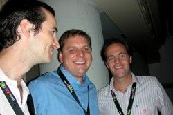 Boris, Michael and Patrick