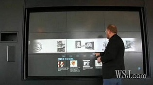 HP Wall of Touch