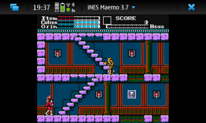 Maemo iNES_screenshot