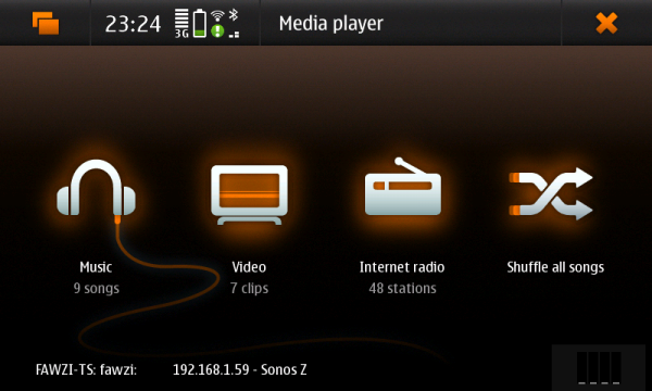 The N900 Media Player
