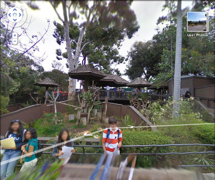 Picture 145 Google Takes on Interior Mapping. Maps San Diego Zoo!