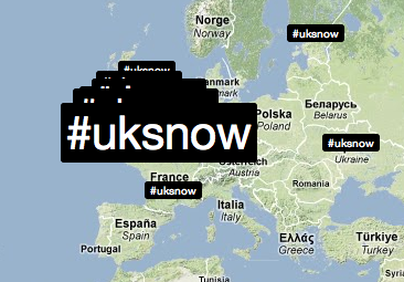 Screen shot 2010 01 06 at 14.28.21 Snow Joke: Twitter and Trendsmap predict weather forecast