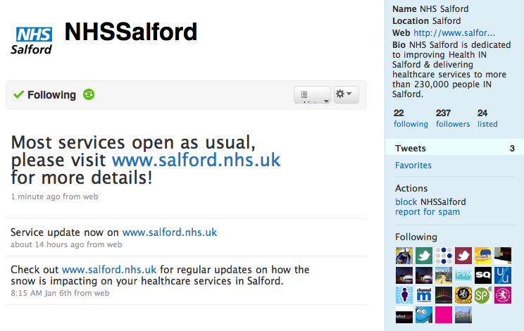 NHS Salford