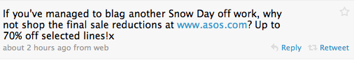 Screen shot 2010 01 07 at 13.27.41 Twitter shines in the #UKsnow