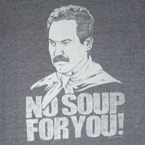 Seinfeld Soup Nazi Blue Shirt 300x300 US Blocking Sugar Market Access To Coerce Costa Rica Into Copyright Reform
