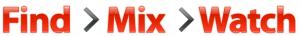 Youtube Disco - Find > Mix >Watch