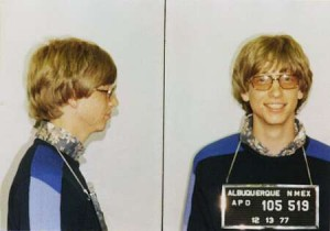 bill gates mugshot 300x210 Bill Gates Joins Twitter   Uses The Web Interface