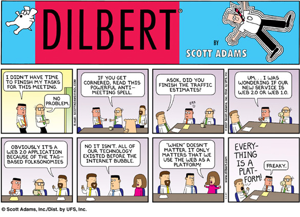 dilbert web20 Enterprise 2.0: The right way to do it