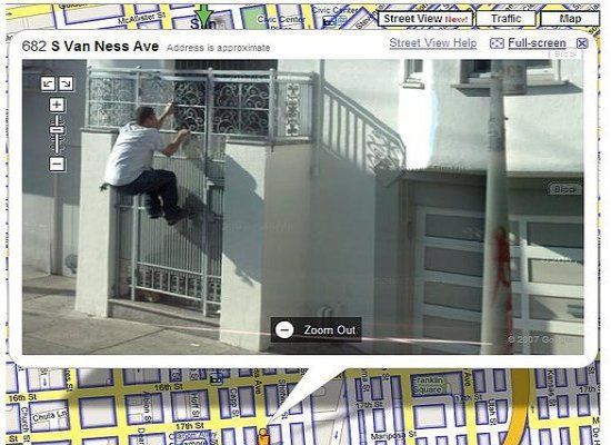 fail 6 The Best Google Street View Fails, Wins, And WTFs