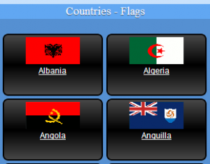 geognos 300x235 The flag of what North African Arab nation is solid green?