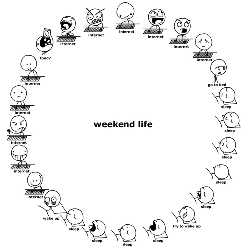 weekend Oh Look, Its Your Weekend