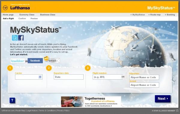 9999 myskystatus 600x381 Happy Landings in Social Media