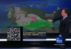 Download The Weather Channel Android App from your TV 300x208 Download Android Apps From Your TV