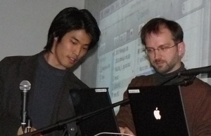 GoogleJapan Riku Inoue n Brad Ellis 300x194 What will be seen in Google Goggles future? People Recognition.