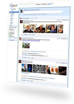 Google Buzz Land Google Buzz toma las bandejas de entrada de los usuarios al asalto