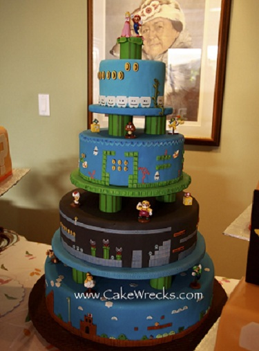 The Cake At Mario And Peach 39 S Wedding