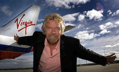 "Virgin's Richard Branson unveils his latest toy…an underwater plane called ""The Nymph"". ..."